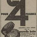 27 septembre 1933 le télégramme des Vosges