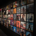 A collection of Johnny's vinyl LP albums