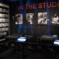 Johnny Cash in the studio