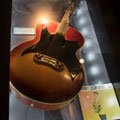 Gibson J-200 acoustic guitar custom made for Johnny by Gibson