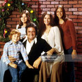 American country singer­songwriter Johnny Cash (1932 ­ 2003) with his wife June Carter Cash (1929 ­ 2003) and three of their children, circa 1976. Left to right; John Carter Cash, Rosanne Cash, Johnny Cash, June Carter Cash and Carlene Carter.