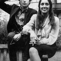 Bob Dylan & Joan Baez -  A pair that could move mountains with their words.