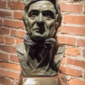 Johnny Cash bust