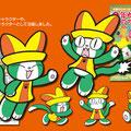 「ネコ丸」算数漫画のメインキャラとして大活躍!