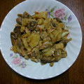 ポテトとキノコのバルサミコソテー  昼