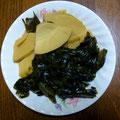 昆布とタケノコの煮物 母親作