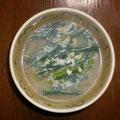 ニラ玉の味噌汁~ (冷たくない味噌汁~)