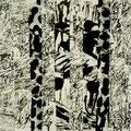 Tuschezeichnung/15x15 cm