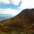 ドカーンと妙高山。