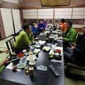 夜は下仁田の旅館で楽しい宴会。