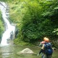 右俣の滝。
