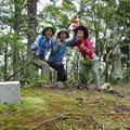 庄部谷山(856m)山頂