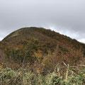 秋色の取立山。