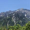 いつ見てもイケメンな剣岳。