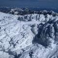 地蔵岳山頂、 エビのしっぽ群。
