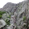 八ツ峰Ⅵ峰Aフェース 魚津高ルート。