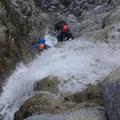 正沢川、 幸ノ沢  滝の遡行。