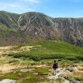 三俣蓮華岳と丸山と双六岳