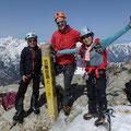 五龍岳山頂に到着。