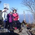 八経ケ岳頂上