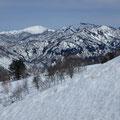 しかり場から大笠山、笈ヶ岳