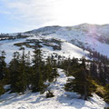 寺地山側から北の又岳大斜面を「1 NIKKOR VR6.7-13mm f/3.5-5.6」で撮る