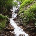 小滝が連続し、すべてが直登できます。