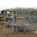 赤岳鉱泉とアイスキャンディ(骨組み)