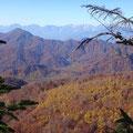 飯縄山付近の紅葉