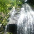 滝上のギャル(Mサンたちでした)。