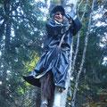 La sorcière du Déchargeux est prête pour Halloween ! ;-)