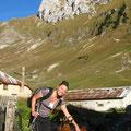 Aurélie et sa copine au chalets de Bise