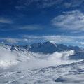 Sales et le Mont Blanc