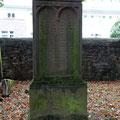 15 Moses Rosenthal aus Bad Nauheim   † 15.05.1887