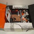 たまて箱/紙 『和の抽象+佐藤久三郎』 (鈴木昇岳/水墨画家) ※箱を開いたところ