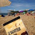 Le Sauveteur' sur une plage de Biarritz. Merci à Fanny.