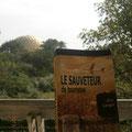 Le Sauveteur' à Auroville, en Inde. Merci à Agnès.