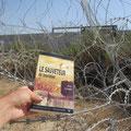 Le Sauveteur' à Bil'in, en Cisjordanie (1/2). Merci à Clem.