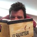 Petite Lecture tranquille. Merci à Frédéric Marc.