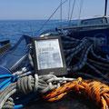 Le Sauveteur' sur la mer Adriatique. Merci à Julien.