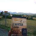 Le Sauveteur' dans la Drôme, à Suze. Merci à Armelle.