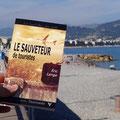 Le Sauveteur' à Nice, sur la promenade des Anglais. Merci à Patricia.