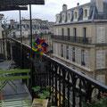 Le Sauveteur' sur un balcon parisien. Merci à Coline.