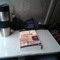 Le Sauveteur' dans le train Chartres-Paris. Merci à Manuella.