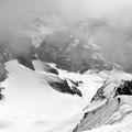 Descente à ski du sommet de la Grande Ruine pour Aurélien