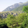 Ostseite: Erosion und Canyons