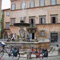 das wir in Tuscania aussitzen