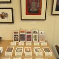 *オリジナルアートカード販売コーナー。お好きなカード3枚選んでワンコイン<¥500>お求め多々*誠にありがとうございました。