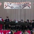 陸前高田市第一中学校でのクリスマスイベントに参加しました。