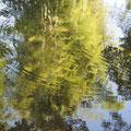 陶房の下に流れる川(百古里川)
